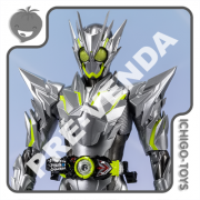 PRÉ-VENDA 31/05/2021 (VALOR TOTAL R$ 738,00 - 10% PARA RESERVA*) S.H. Figuarts Tamashii Web Exclusive - Masked Rider Zero-One Metal Cluster Hopper - Masked Rider Zero-One