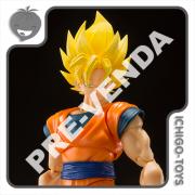 PRÉ-VENDA 31/08/2021 (VALOR TOTAL R$ 458,00 - 10% PARA RESERVA*) S.H. Figuarts - Super Saiyan Son Goku Full Power - Dragon Ball Z
