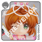 PRÉ-VENDA 31/09/2021 (VALOR TOTAL R$ 662,00 - 10% PARA RESERVA*) Nendoroid 1533 - Sakura Kinomoto Always Together Pinky Promise - Cardcaptor Sakura