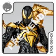 PRÉ-VENDA 31/10/2021 (VALOR TOTAL R$ 1.092,00 - 10% PARA RESERVA*) Revoltech Amazing Yamaguchi 023-EX - Iron Spider Black Suit - The Amazing Spider-Man