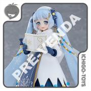 PRÉ-VENDA 31/12/2021 (VALOR TOTAL R$ 832,00 - 10% PARA RESERVA*) Figma EX-064 Goodsmile Online Shop Exclusive - Snow Miku Glowing Snow - Vocaloid
