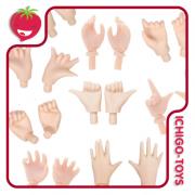 Pure Neemo Hands (Para corpo S, M e L)  - A, B ou C - white ou natural