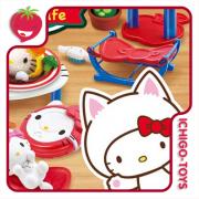 Re-ment Hello Kitty Cat Cafe - coleção completa!