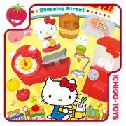 Re-ment Hello Kitty Shopping Street - Coleção Completa!