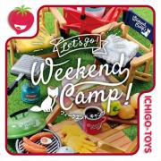Re-ment Let's Go Weekend Camp - Coleção completa!