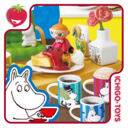 Re-ment Moomin Nordic Cafe - Coleção completa!