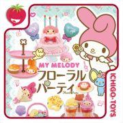 Re-ment My Melody Floral Party - Coleção Completa!
