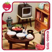 Re-ment Nostalgic Japanese Life - Story of Showa 30's - Coleção Completa! 1/12 - 1/18