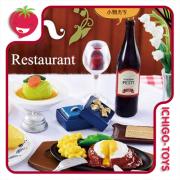Re-ment Petit Sample Old Western Restaurant  1/6 - Coleção completa!