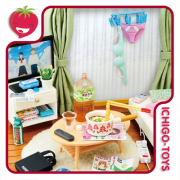 Re-ment Petit Sample Zubora-chan Room - escala 1/12  - coleção completa!