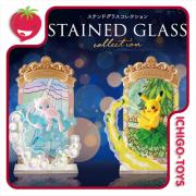 Re-ment Pokémon: Stained Glass - coleção completa!