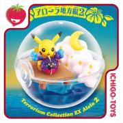 Re-ment Pokémon Terrarium DX Alola 2 - coleção completa!