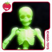 Re-ment Pose Skeleton - 01 Skeleton Human - Glow in the Dark