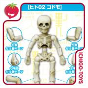 Re-ment Pose Skeleton - 02 Child Human