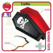 Re-ment Pose Skeleton - 10 Coffin