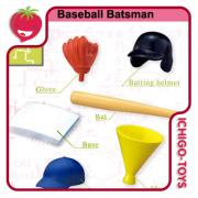 Re-ment Pose Skeleton - 15 Baseball Batsman