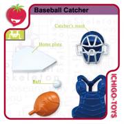 Re-ment Pose Skeleton - 16 Baseball Catcher