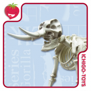 Re-ment Pose Skeleton 301 - Mammal Elephant