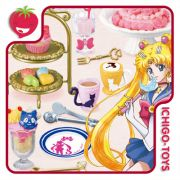 Re-ment Sailor Moon Cafe Sweets - coleção completa