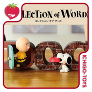 Re-ment Snoopy Collection of Words - avulsos!