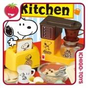 Re-ment Snoopy Retro Kitchen - coleção completa!