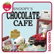 Re-ment Snoopy 's Chocolate Cafe - Coleção Completa!
