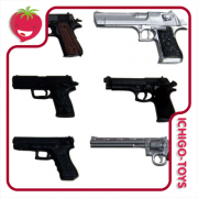 Realistic Handgun Set - 1/12