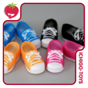 Sneakers para Obitsu 11cm - magnético - Serve em Middie Blythe!