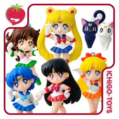 Chaveiros Sailor Moon Swing 20th Anniversary Vol.1  - Ichigo-Toys Colecionáveis