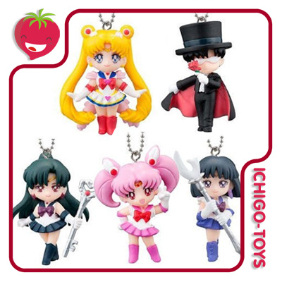 Chaveiros Sailor Moon Swing 20th Anniversary Vol.3  - Ichigo-Toys Colecionáveis