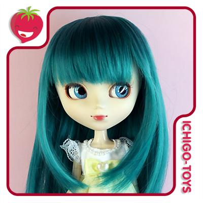 Peruca For My Doll 1090 - Vintage Green 9-10 - Pullip/Dal/Byul/Tae/Isul  - Ichigo-Toys Colecionáveis