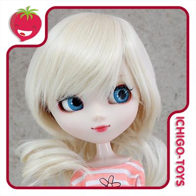 Peruca For My Doll K002 - Cream Blond 9-10 - Pullip/Dal/Byul/Tae/Isul  - Ichigo-Toys Colecionáveis