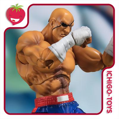 S.H. Figuarts Tamashii Web Exclusive - Sagat - Street Fighter  - Ichigo-Toys Colecionáveis