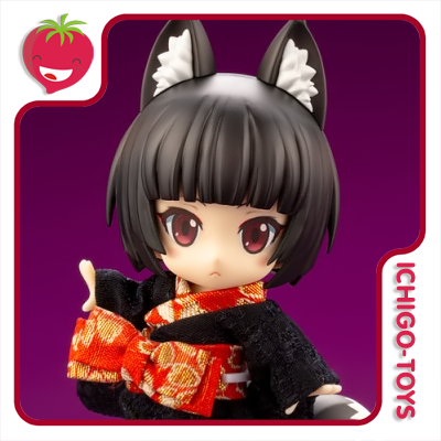 Cu-poche - Kuro Kitsune (Black Fox Spirit) - Cu-poche Friends  - Ichigo-Toys Colecionáveis