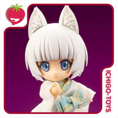 Cu-poche - Shiro Kitsune (White Fox Spirit) - Cu-poche Friends  - Ichigo-Toys Colecionáveis