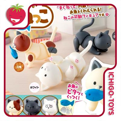 Cup Figure Neko  - Ichigo-Toys Colecionáveis