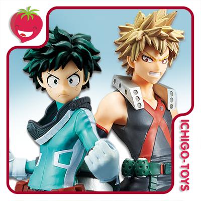 DXF - Izuku Midoriya + Katsuki Bakugo - My Hero Academia  - Ichigo-Toys Colecionáveis