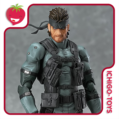 Figma 243 - Solid Snake - Metal Gear Solid 2 Sons of Liberty  - Ichigo-Toys Colecionáveis