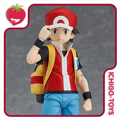 Figma 356  - Red (com bônus exclusivo Pókemon Center Online) - Pokémon  - Ichigo-Toys Colecionáveis
