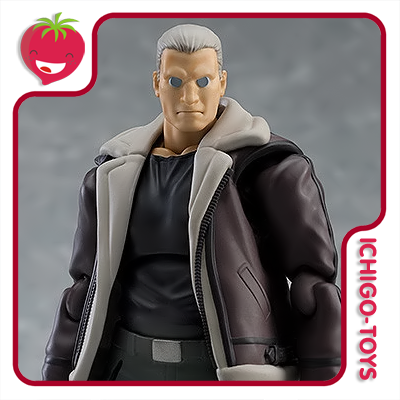 Figma 482 - Batou - Ghost in the Shell: Stand Alone Complex  - Ichigo-Toys Colecionáveis