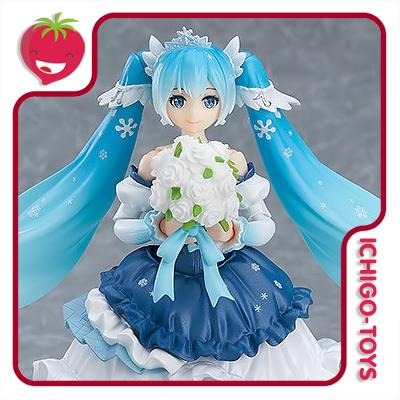 Figma EX-054 Wonder Festival 2019 - Snow Miku Snow Princess - Vocaloid  - Ichigo-Toys Colecionáveis