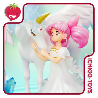 Figuarts Zero Chouette Tamashii Web Exclusive - Chibiusa and Helios - Bishoujo Senshi Sailor Moon  - Ichigo-Toys Colecionáveis