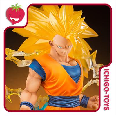 Figuarts Zero Tamashii Web Exclusive - Super Saiyan 3 Son Goku - Dragon Ball Z  - Ichigo-Toys Colecionáveis