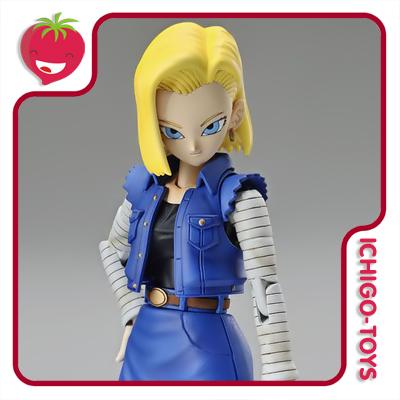 Figure Rise Standard - Android 18 - Dragon Ball Z  - Ichigo-Toys Colecionáveis