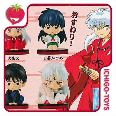 Gashapon Inuyasha Osuwari-tai set  - Ichigo-Toys Colecionáveis
