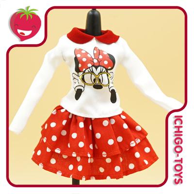 Kurhn Doll Outfit - Minnie Glasses Set  - Ichigo-Toys Colecionáveis