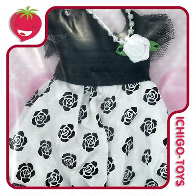 Licca-chan Happy Dress Collection - 03 Rose Party  - Ichigo-Toys Colecionáveis
