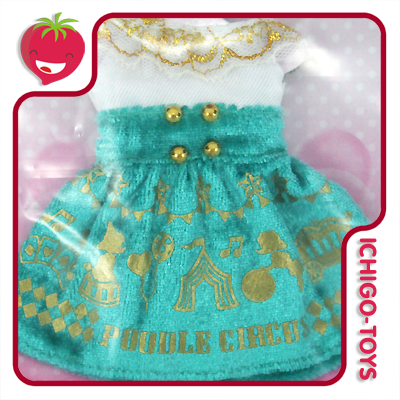Licca-chan Happy Dress Collection - 06 Poodle Circus  - Ichigo-Toys Colecionáveis