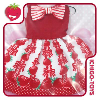 Licca-chan Happy Dress Collection - 07 Happy Strawberry  - Ichigo-Toys Colecionáveis