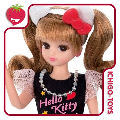 Licca-chan Hello Kitty  - Ichigo-Toys Colecionáveis